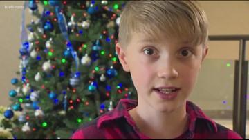 Meridian boy lifts spirits at the hospital through music