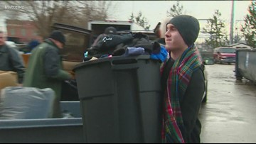 Meridian teen delivers big holiday donation to the Boise Rescue Mission