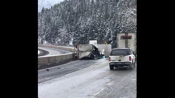 Interstate 84 in eastern Oregon back open again