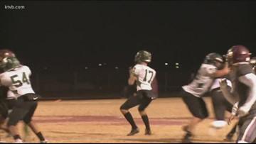 Class 5A Idaho high school state football quarterfinal highlights: Eagle Mustangs vs. Rigby Trojans