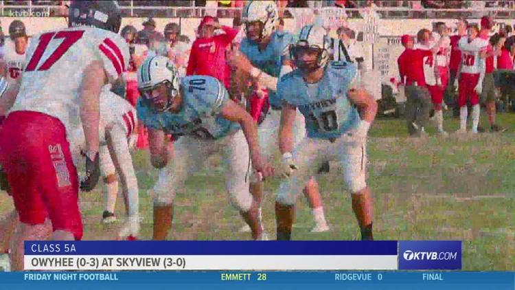 Friday Night Football: Owyhee Storm take on Skyview Hawks