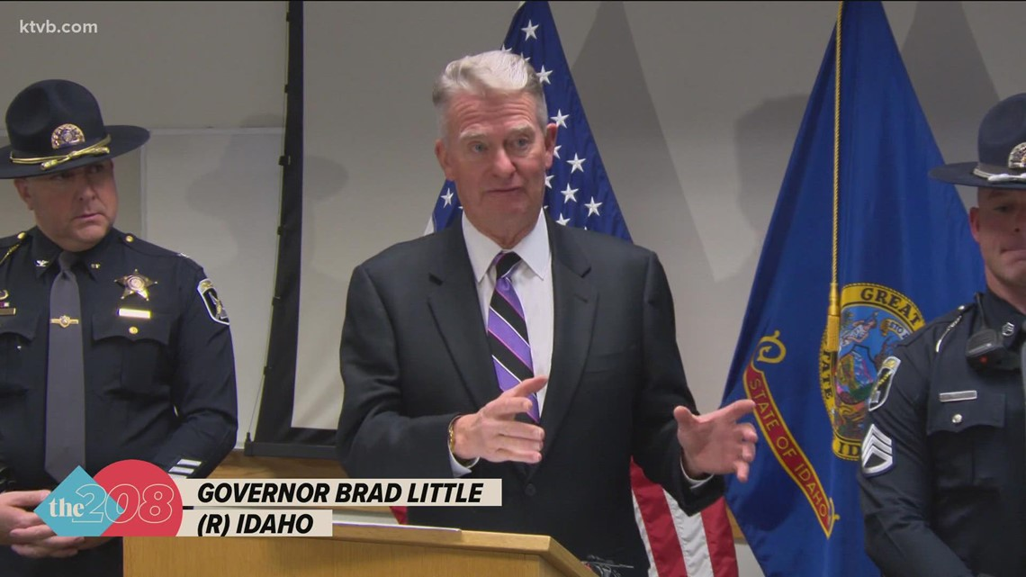 Gov. Little discusses findings from trip to U.S.-Mexico border