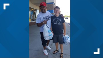 Shoe Hero: Boise man's act of kindness goes viral on social media