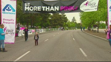 Race For The Cure Finish Line 18:30-33:32