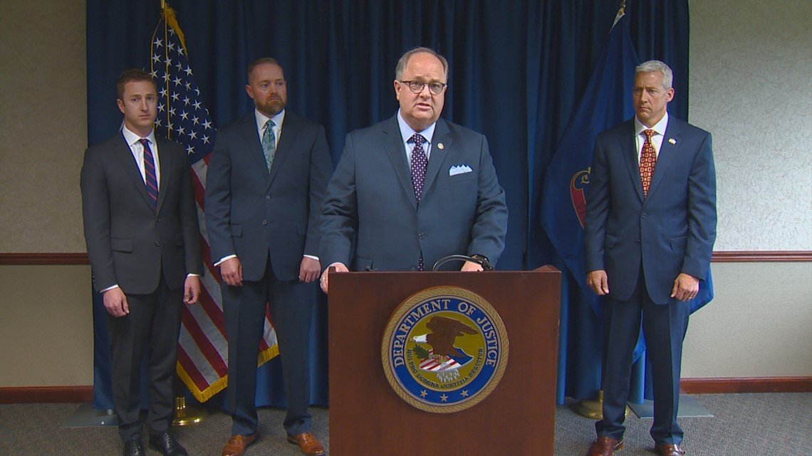 US Attorney: 10 members of Idaho white supremacist prison gang