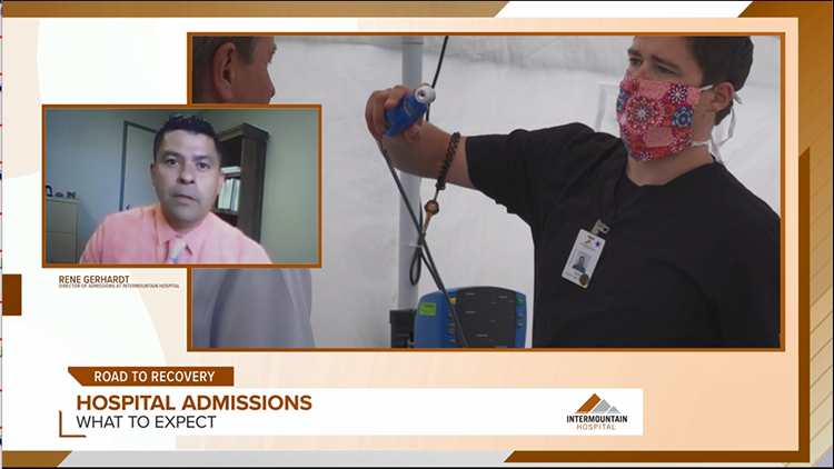Road To Recovery: Rene Gerhardt with Intermountain Hospital shares their response to Covid 19 and safety precautions