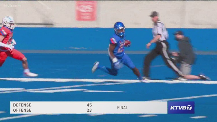 Highlights from Boise State's annual Spring Game