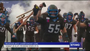 Boise State beats down Hawai'i in the Mountain West Championship game in a 31-10 win