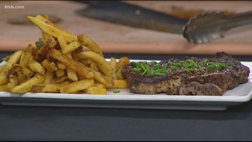KTVB Kitchen: How to grill a coffee-rubbed ribeye steak