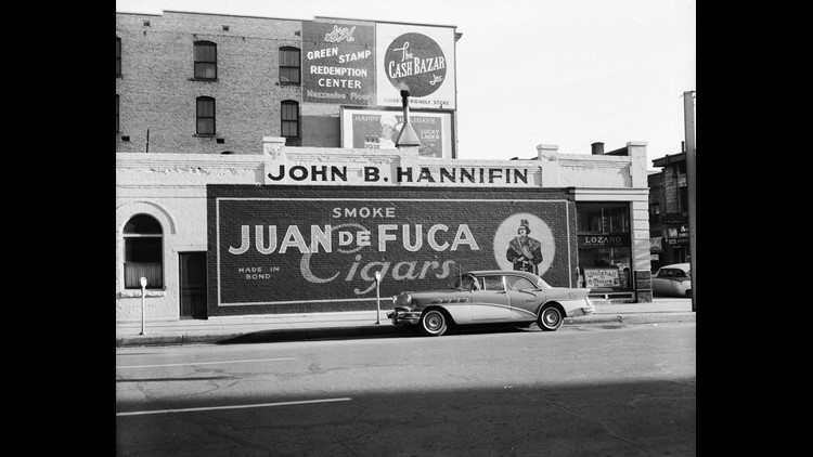 Hannifin's in the 1960s (Photo courtesy: Idaho State Archives)