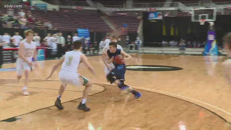 St. Maries beats Ambrose 51-50 in a thriller for the 2A state boys basketball championship