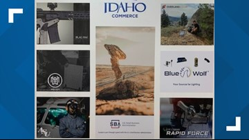 Idaho manufacturing companies in Paris for law enforcement expo