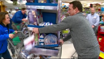 7Cares Idaho Shares toy drive shopping spree at Fred Meyer