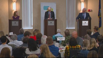 WATCH: Dave Bieter and Lauren McLean discuss Boise residents' biggest concerns during mayoral runoff forum