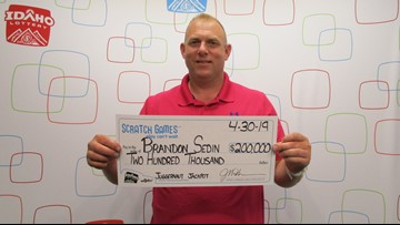Boise man wins $200K on lottery scratch ticket