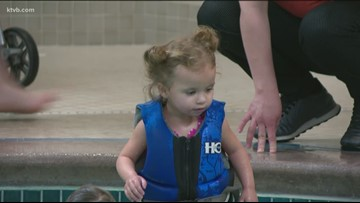 Homeless families get holiday treat stay at Boise hotel