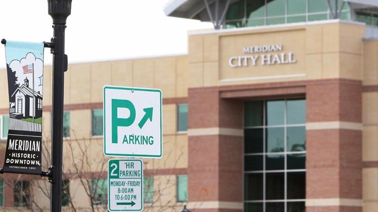 Idaho Press Meridian parking