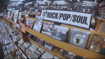 Keepin' It Local: Boise man shows us why holding a vinyl, cassette or CD in hand really rocks!