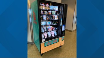 New vending machine with baby items now open at Boise Airport