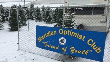 Where's Larry? Meridian Speedway, Optimist Tree Lot