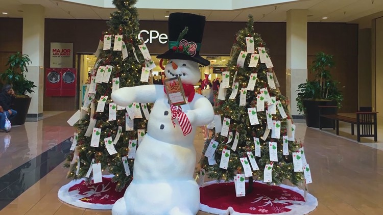 Salvation Army Angel Trees