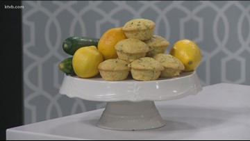 KTVB Kitchen: How to bake super-duper lemon zucchini muffins
