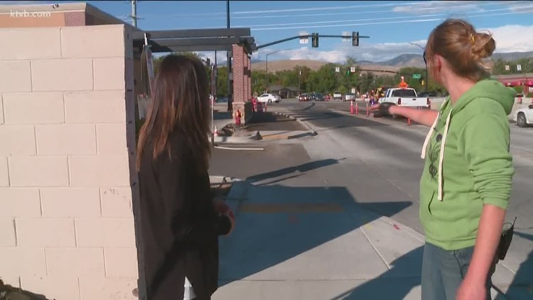 Where the Sidewalk Ends: Pedestrians and cyclists face hazards at one of Boise's busiest intersections