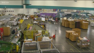A look inside Boise's mail processing center as workers take on the holiday surge