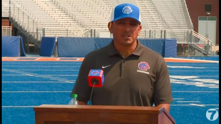 Andy Avalos, coaching staff excited for the start of fall camp for the Broncos