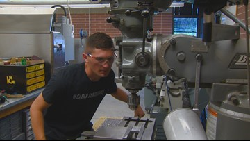Nampa student engineer heads to Russia to compete in WorldSkills competition
