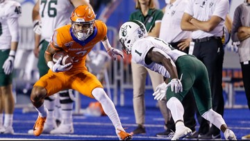 Watch Boise State's post-game news conference after the Broncos beat Portland State 45-10