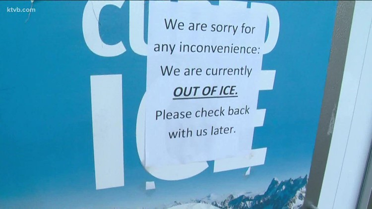 'This is the new toilet paper craze': Idaho retailers facing ice shortage amid extreme heat