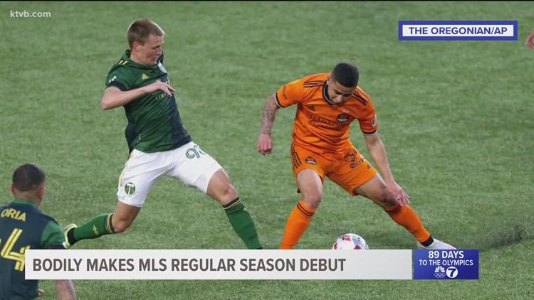 Eagle native makes MLS regular-season debut for Portland Timbers
