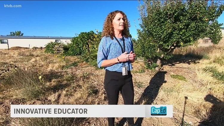 Innovative Educator: Boise teacher helps students bloom in special garden