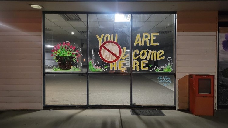 'Really upsetting:' Sign at proposed Interfaith Sanctuary homeless shelter vandalized