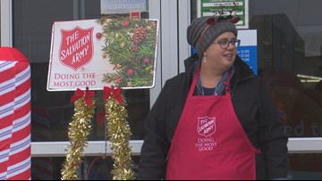 Nampa woman sings and dances outside Walmart to raise funds for the Salvation Army