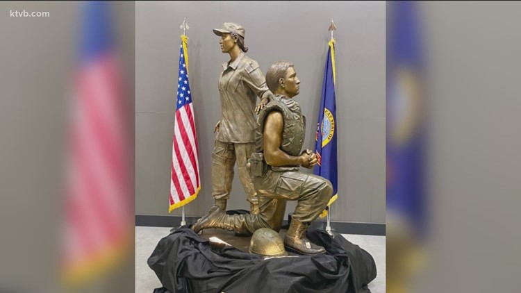Statue to be unveiled at Idaho State Veterans Cemetery Saturday