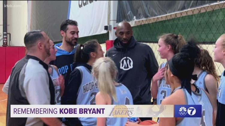 Sunday Sports Extra: Idaho Hoop Dreams remember playing against Kobe's Bryant Mamba Sports Academy