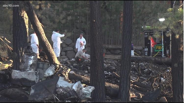 Police: 6 now confirmed dead in plane crash near Lake Tahoe