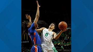 Mathis scores 30 points as No. 15 Oregon beats Boise State 106-75