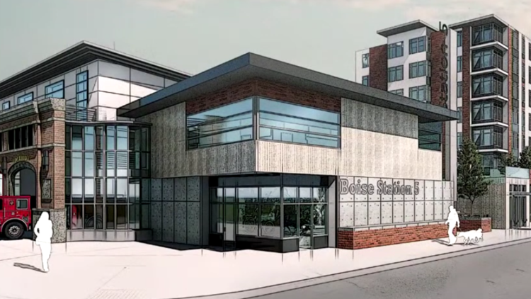 Boise to replace aging downtown fire station, add affordable housing