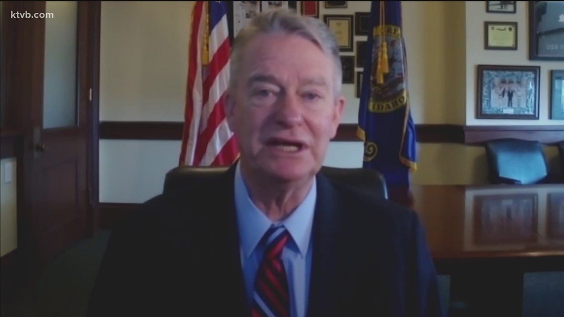 Gov. Little discusses one year of COVID-19 in Idaho