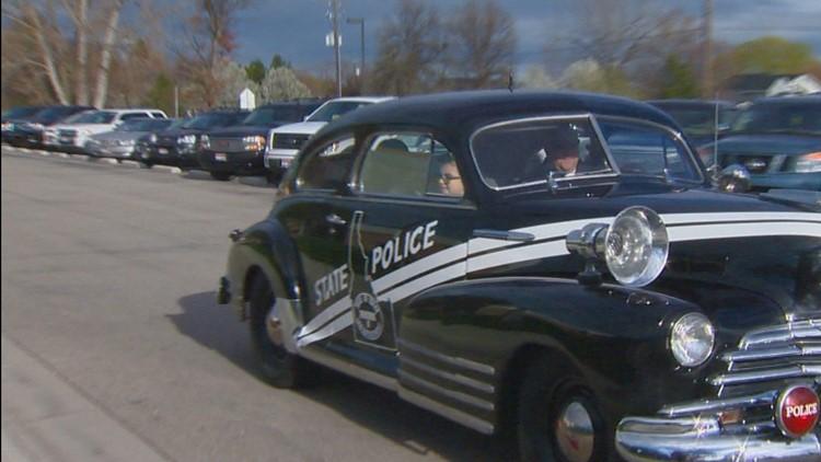 1947 ISP Patrol Car
