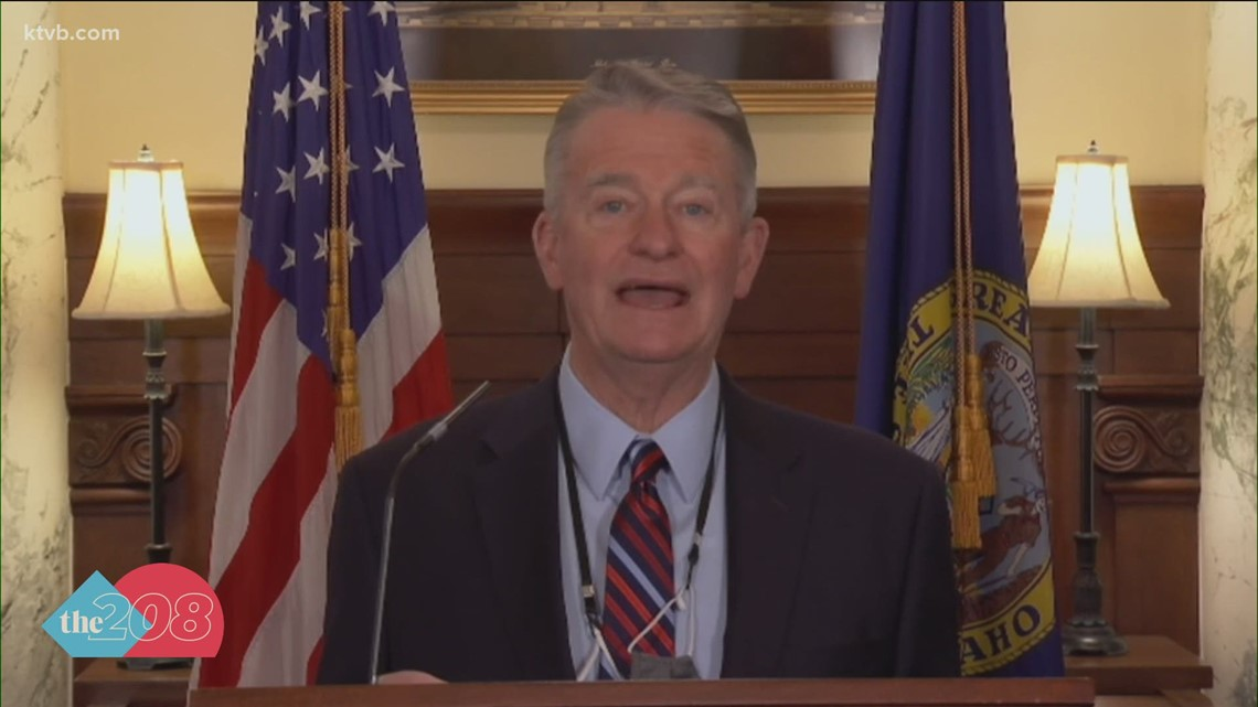 Gov. Little vetos 2 emergency powers bills with the backing of former governors