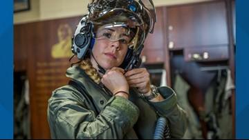 Boise State alumna becomes first female F-35B pilot