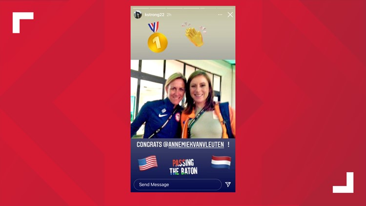 Olympic cycling: 3-time gold medalist Kristin Armstrong congratulates new time trials champ