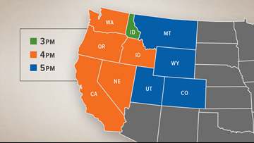 Time change? What it would mean if lawmakers eliminate ... on idaho lakes map, idaho district map, detailed idaho road map, idaho elk hunting unit map, all of idaho cities map, idaho water map, idaho wildfires map, idaho snotel map, idaho average snowfall map, idaho map with cities, idaho montana road map, nampa idaho map, idaho mountain map, idaho on a map of usa, idaho sand dunes map, idaho area map, idaho wind map, simple idaho map, idaho unit 39 map,
