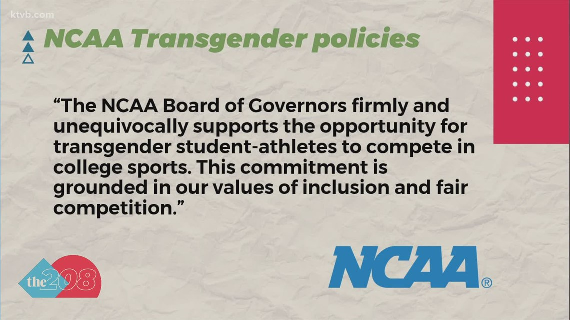 NCAA updates transgender athlete policy as Idaho law banning transgender participation in sports goes through courts