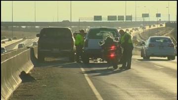 Multiple vehicle crash on I-184 causes major delays Tuesday evening