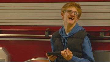 7's Hero: Meridian Firefighters welcome visits from teen with autism
